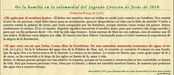 Y EL CORAZÓN DE JESÚS (Perlas para mis amigos-55)