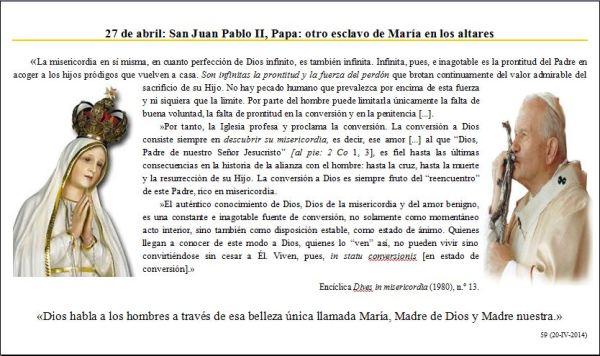 SAN JUAN PABLO II (Perlas para mis amigos-59)